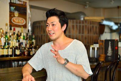 吉崎 塁様(新城 サンモール商店街 理事)