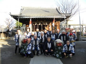 新春の獅子舞は「悪魔祓い」。新城郷土芸能囃子曲持保存会の技芸で新年を寿ぐ