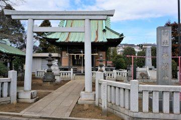 日本武尊と弟橘媛が祀られている橘樹神社