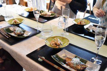 色彩豊かな和のフルコース:ミスタービルド中原の定期料理教室 ①