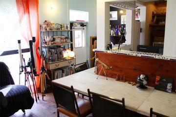 民家を自らDIYでフルリノベした隠れ家カフェ